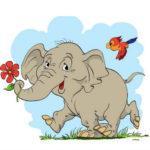 слон без носа