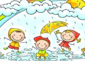 загадки про дождь