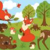 Загадки про лесных животных для детей
