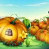 Загадка для детей про тыкву — оранжевую красавицу