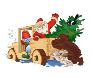 Короткие стихи Деду Морозу для детей 3 лет